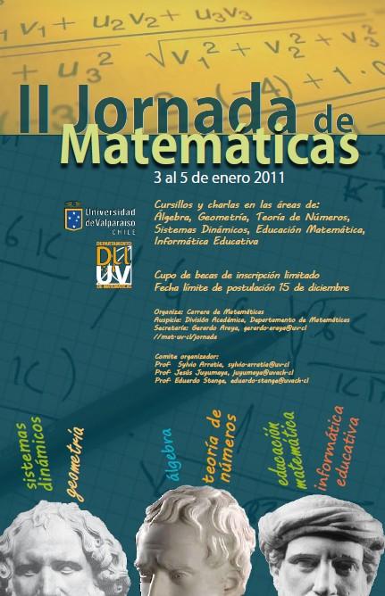 II Jornada de Matemáticas