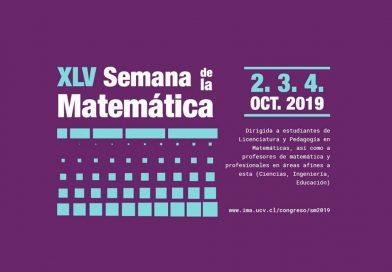 XLV Semana de la Matemática