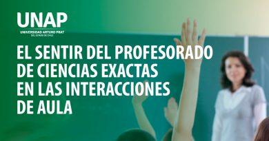 Videoconferencia: «El sentir del profesorado de ciencias exactas en las interacciones de aula»