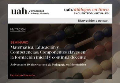 Seminario «Matemática, Educación y Competencias: Componentes claves en la formación inicial y continua docente»