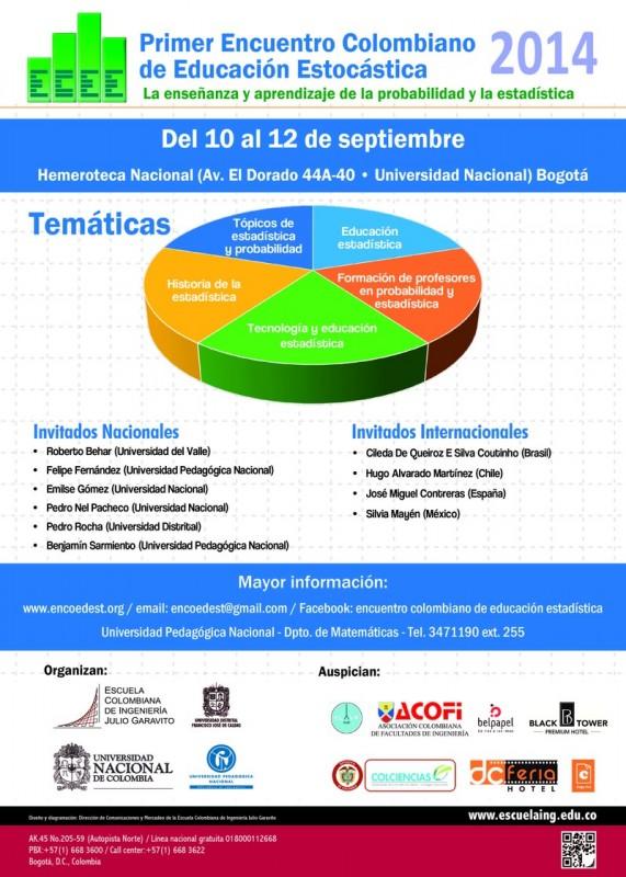 Primer Encuentro Colombiano De Educación Estocástica