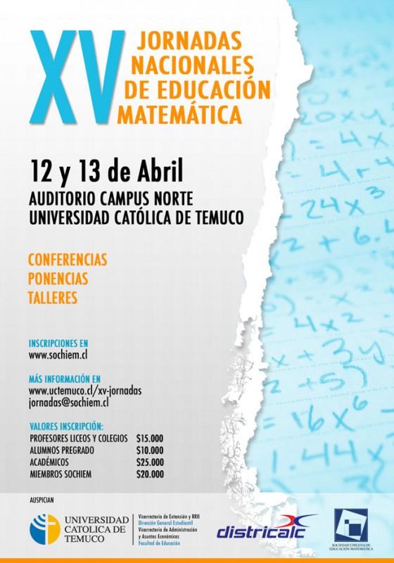 Afiche XV Jornadas