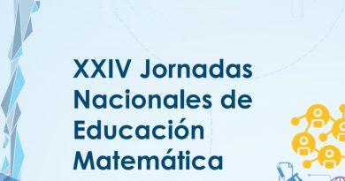 Cuarto Anuncio – XXIV Jornadas Nacionales de Educación Matemática